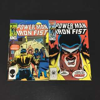 Power Man & Iron Fist 122 & 123 Marvel Comics Book Avengers Movie Defenders