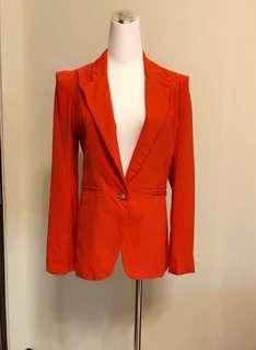 🚚 二手橘紅外套