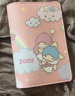 CUSTOM PASSPORT HOLDER little twin stars