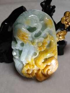 Jade Myanmar Type A Jadeite - phoenix ruyi