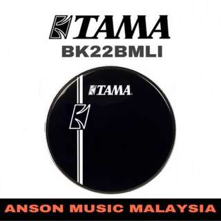 Tama BK22BMLI Resonant Bass Drum Head, 22""
