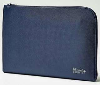 日本型男雜誌贈品mono max 附贈 BEAMS LIGHT 手拿包 收納包 IPAD平板套