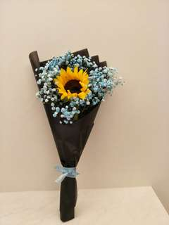 Sunflower Bouquet for Graduation