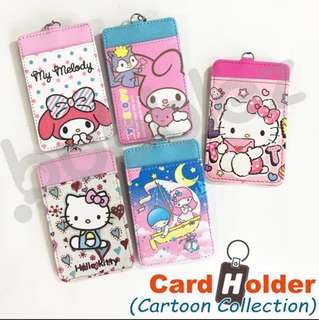 CARD HOLDER ◣SANRIO CHARACTERS ◥ / PASS HOLDER / EZ-LINK CARD HOLDER