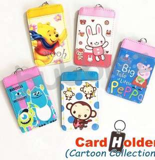 💳 CARD HOLDER ◣CARTOON CHARACTERS 1◥ / PASS HOLDER / EZ-LINK CARD HOLDER