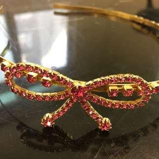 蝴蝶結髮箍