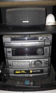 CD PLAYER AIWA FULL AUDIO SURROUND SOUND