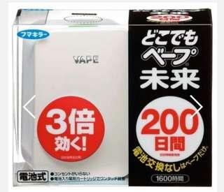日本直送 200日未來vape驅蚊器