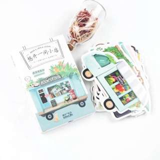 (PO) Little Truck Store Postcards/ Post Cards