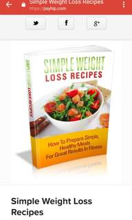 Simple Weight Loss Recipe