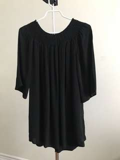 Aritzia Talula off the shoulder dress size xxs