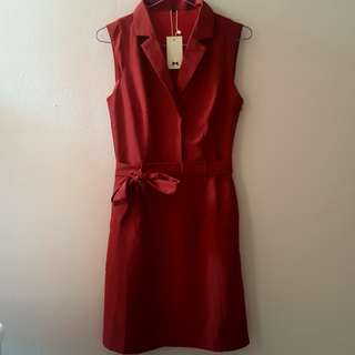 BNWT Lilypirates Maroon Dress Size S