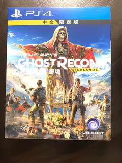 PS4 Ghost Recon wild lands