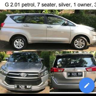 Toyota Kijang Innova 2016 G