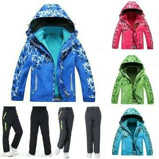 Kids 3pc Ski Outfits!