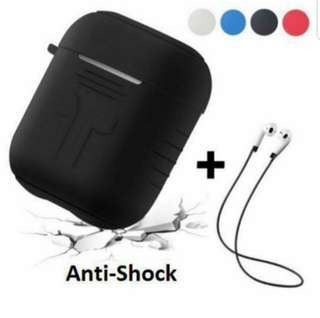 (SELL) AirPods Casing Protector with Strap