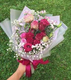 Flower Bouquet | Mother's Day flowers | graduation flowers