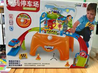 Seat parking toy set