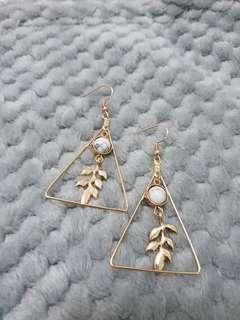 Leafyou earrings