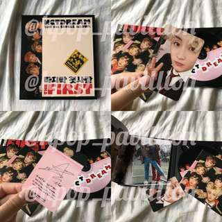 NCT DREAM ; THE FIRST ALBUM ( READYSTOCK )