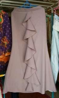 Ruffle skirt kembang