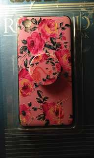 OPPO A37 Case,  Floral/Pink