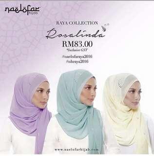 Naelofar Hijab Vietnam inspired