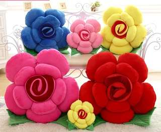 Roses Plush Cushion