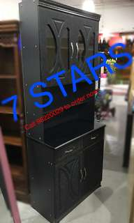 Brand New Tall Kitchen Cabinet (New Arrival ALL BLACK series)
