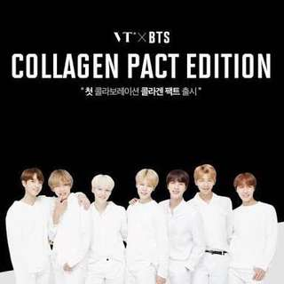 VT x BTS Collagen Pact Edition