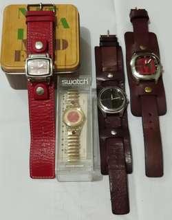 Jam fossil & swatch