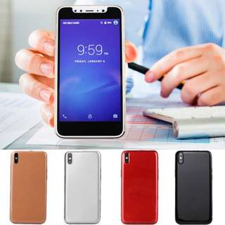 5.0 Inch Slim Mobile Smartphone Android OS 6.0 System HD Screen 2/3G Cellphone Smartphones