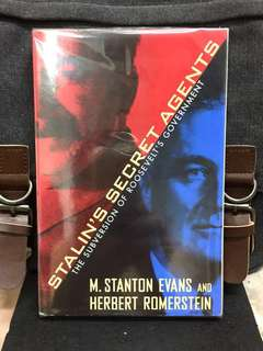 《New Book Condition + Soviet Infiltration And Influence on US Government During World War II 》STALIN'S SECRET AGENTS : The Subversion of Roosevelt's Government