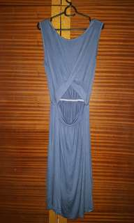 Front or Back opening two way maxi Dress