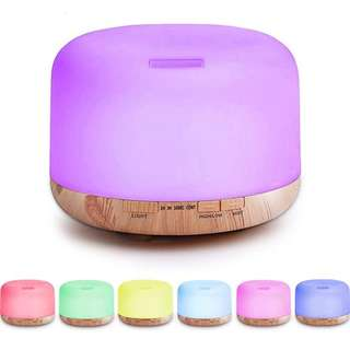 Humidifier Aroma Diffuser 7 Color LED - 500ml