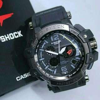 Jam Tangan Pria Elegan Exclusius Casio G-Shock Monster Sport Premium  Dual time+Box Casio Anti Air