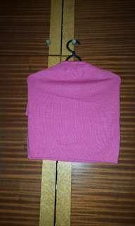 Sweet pinky bareback top