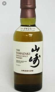 日本山崎NAS威士忌180mI