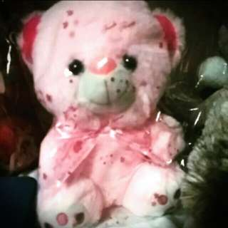 Baby pink stuffed toy