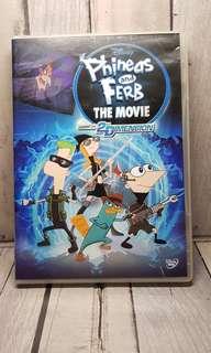 Dvd original phineas and ferb movies
