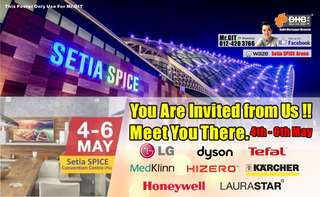 You are invited to BAN HIN BEE booth @ Setia SPICE Arena @ Penang HomeLove Fair.