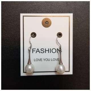 簡約款 淡水珍珠耳環 珠寶首飾