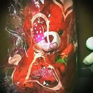 Red stuffed toy
