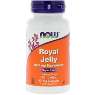 Now Foods, Royal Jelly, 60 Veg Capsules