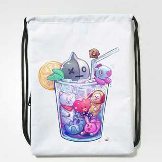 BT21 Drawstring Bag