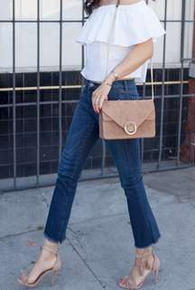 BNWT Cute Cropped Flare Denim Jeans