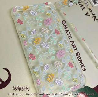 Gmate Art Series 2 in 1 Shockproof Front and Back Case