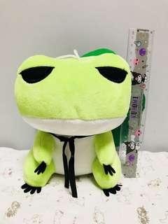 青蛙毛公仔