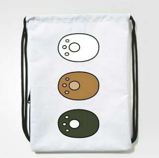 We Bare Bears Drawstring Bag