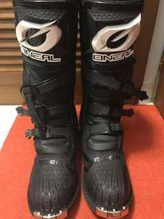 Used oneal off road boots for sales size US11/45